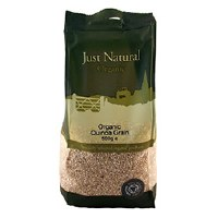 Just Natural Organic Org Quinoa Grain 500g