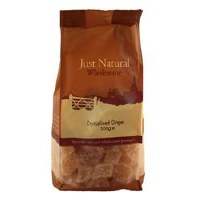 Just Natural Wholesome Crystallised Ginger 500g