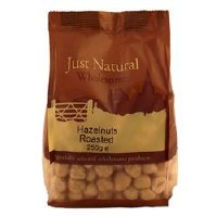 Just Natural Wholesome Hazelnuts Roasted 250g