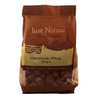 Just Natural Wholesome Hazelnuts Whole 250g