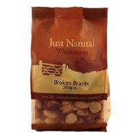 Just Natural Wholesome Broken Brazils 250g