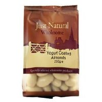 Just Natural Wholesome Yoghurt Coated Almonds 250g