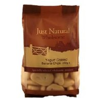 Just Natural Wholesome Yoghurt Coated Banana Chips 250g