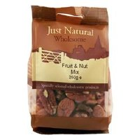 Just Natural Wholesome Mixed Fruit & Nuts 250g
