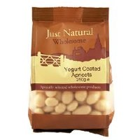 Just Natural Wholesome Yoghurt Coated Apricots 250g