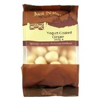 Just Natural Wholesome Yoghurt Coated Ginger 250g
