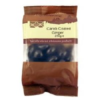 Just Natural Wholesome Carob Coated Ginger 250g