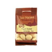 Just Natural Wholesome Yoghurt Coated Almonds 80g