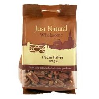 Just Natural Wholesome Pecan Halves 125g