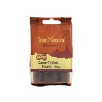 Just Natural Wholesome Carob Coated Brazil Nuts 80g