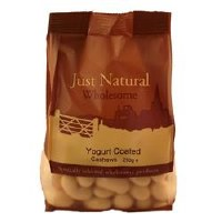 Just Natural Wholesome Yoghurt Coated Cashews 250g