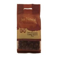 Just Natural Wholesome Dark Chocolate Coated Raisins 80g