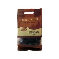 Just Natural Wholesome Dark Chocolate Coated Brazils 80g