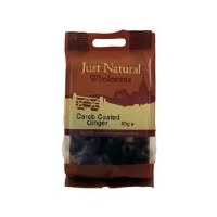 Just Natural Wholesome Carob Coated Ginger 80g
