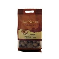 Just Natural Wholesome Carob Coated Raisins 80g