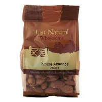 Just Natural Wholesome Whole Almonds 250g