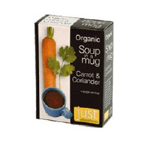 Just Wholefoods Org Carrot & Coriander Soup 4 x 17g
