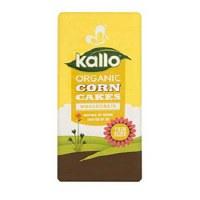Kallo Organic Corn Cakes Thins 130g