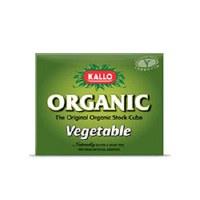 Kallo Organic Vegetable Stock Cubes 66g