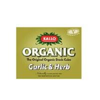 Kallo Garlic & Herb Stock Cubes 66g