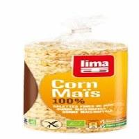 Lima Organic 100% Corn Cakes 120g