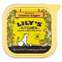 LILY'S KITCHEN - Food  Dog Organic Chick Supper 150g