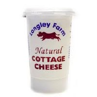 Longley Farm Longl Natural Cottage Cheese 1x250g