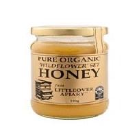 LITTLEOVER APIARIES Organic Set Wildflower Honey 340g