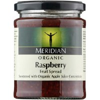 Meridian Org Raspberry Fruit Spread 284g