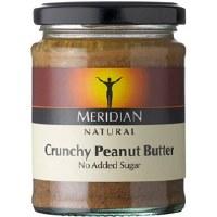Meridian Crunchy Peanut Butter+Salt 280g