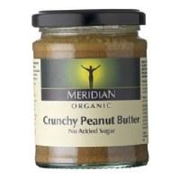 Meridian Org Crunch Peanut Butter +salt 280g
