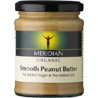 Meridian Org Smooth Peanut Butter 100% 280g