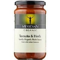 Meridian Org Tomato & Herb Pasta Sauce 440ml