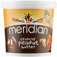 Meridian Crunchy Peanut Butter 100% 1000g