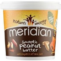 Meridian Smooth Peanut Butter +salt 1000g