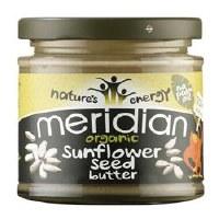Meridian Org Sunflower Seed Butter 170g