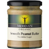 Meridian Org Smooth Peanut Butter +salt 280g
