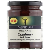 Meridian Org Cranberry Sauce 284g