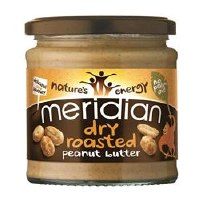Meridian Dry Roasted Peanut Butter 280g