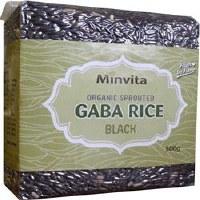 Minvita GABA Rice Black 500g