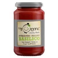 Mr Organic Org Basilico Pasta Sauce 350g