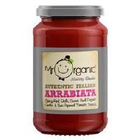 Mr Organic Chilli Arrabbiata Pasta Sauce 350g