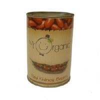Mr Organic Org Red Kidney Beans Tin 400g