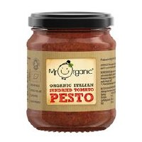 Mr Organic Org Sundried Tomato Pesto 130g