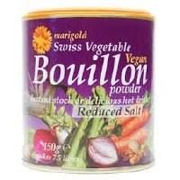 Marigold Veg Bouillon Powder Red Salt 150g
