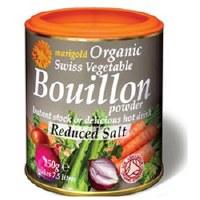 Marigold Org Bouillon Powder Less Salt 140g