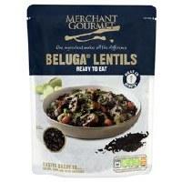 Merchant Gourmet Beluga Lentils Ready to Eat 250g
