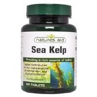 Natures Aid Sea Kelp 187mg 180 tablet
