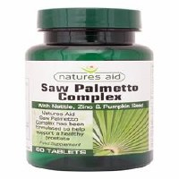 Natures Aid Saw Palmetto Complex for Men 60 tablet