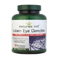 Natures Aid Lutein Complex with Bilberry 90 tablet